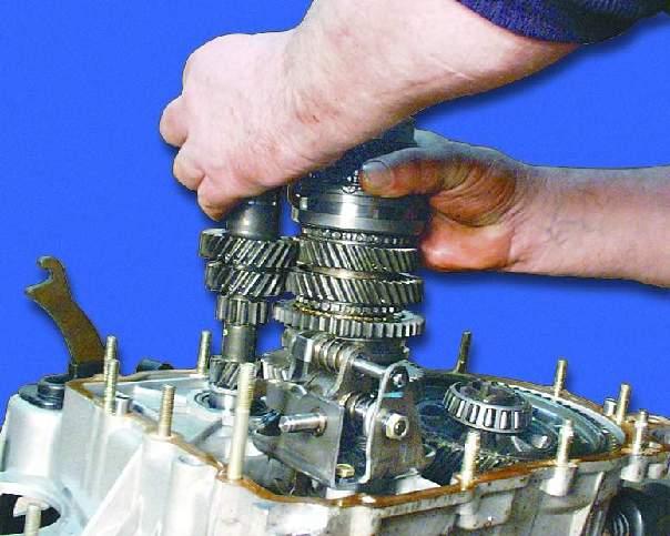 Ремонт коробки передач ваз 2109 своими руками